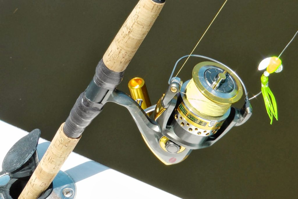 Fishing Rod with Custom Reel Seat