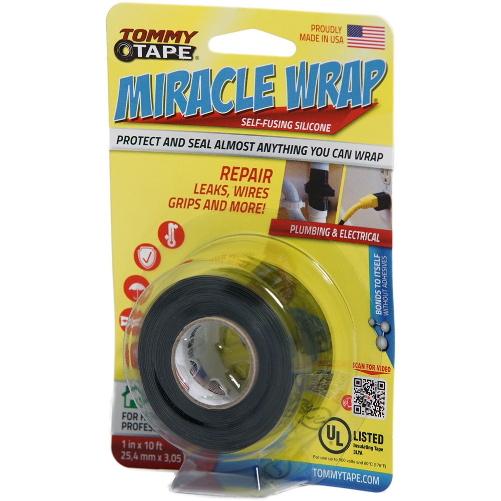 Tommy Tape Miracle Wrap Self-Fusing Silicone Wrap